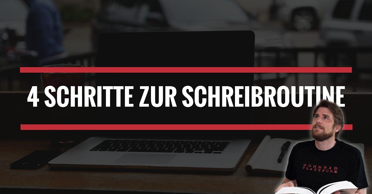 4 Schritt zur Schreibroutine