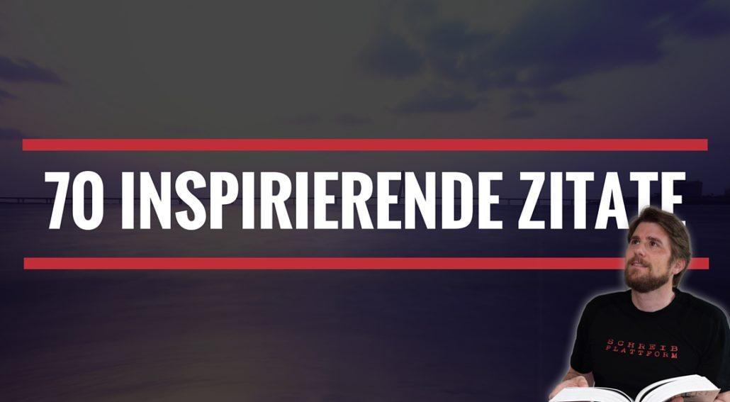 70 inspirierende Zitate - Beitragsbild