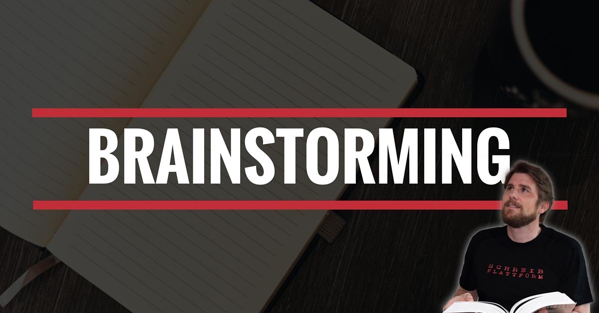 Brainstorming fürs Buch schreiben