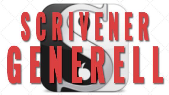 Scrivener generell