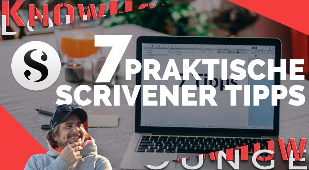 Beitragsbild 7 Scrivener Tipps